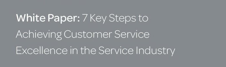 customer service white paper Our b2b customer service strategy whitepaper resources » white papers » customer service as a growth strategy get the white paper, itil vs customer.