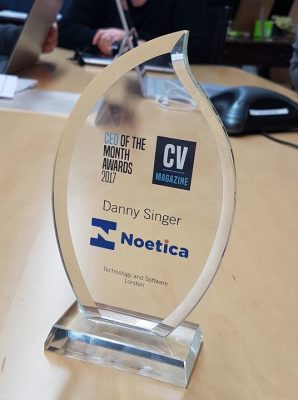 noetica.CEO of the month award.march.2017