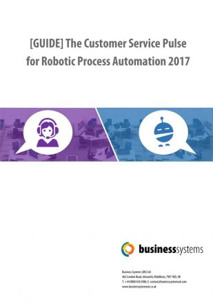 Business Systems - Automation in Customer Service Report 2017 -april.2017