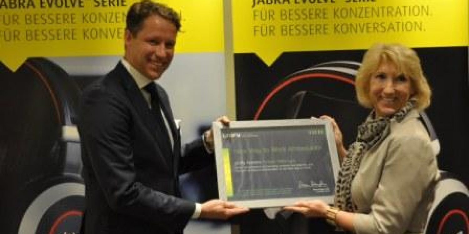 "Jabra's Holger Reisinger Named ""New Way to Work Global Ambassador"" by Unify"