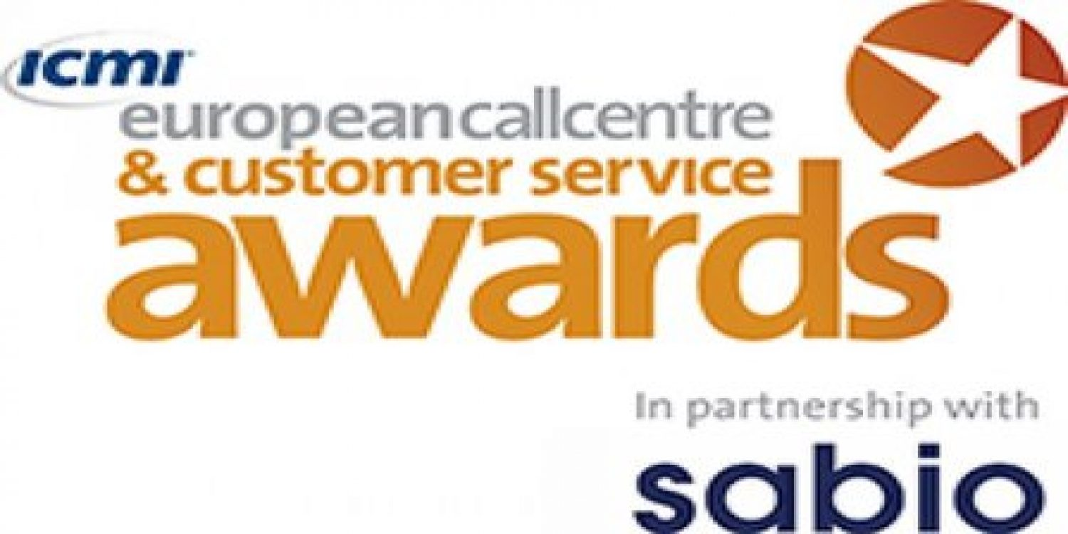 Sabio extend support for European Contact Centre Awards