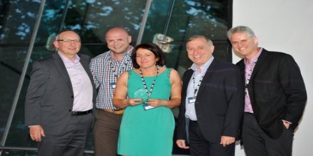 Sinclair Voicenet Enterprise Business Partner of the Year by NICE