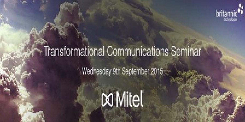 Contact Centre – Transformational Communications Seminar