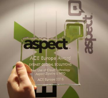 aspect.ace.europe.sysnet.award.april.2016