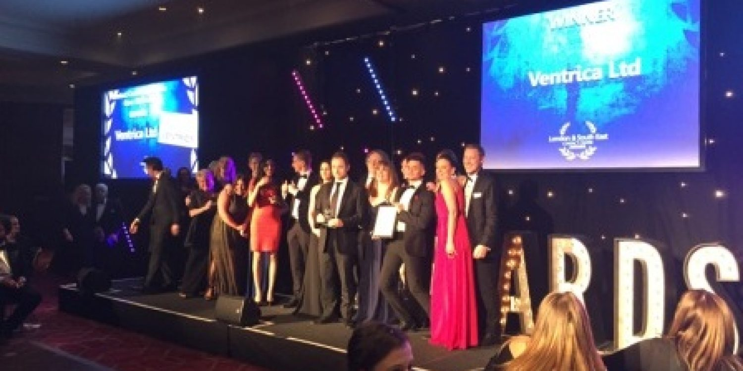 Ventrica Celebrates with Contact Centre of the Year Award