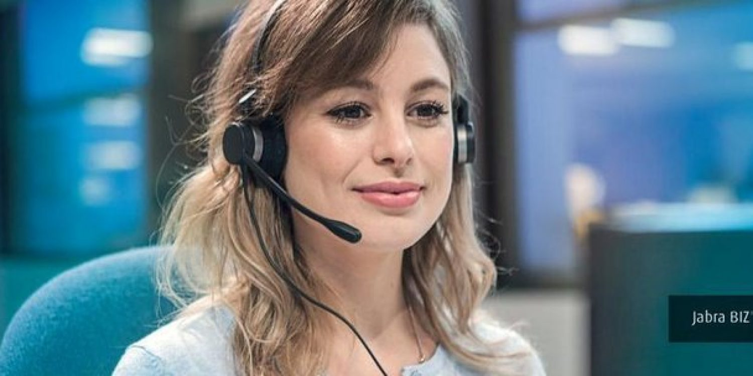 Jabra Launch Cortana Integrated Contact Centre Headsets