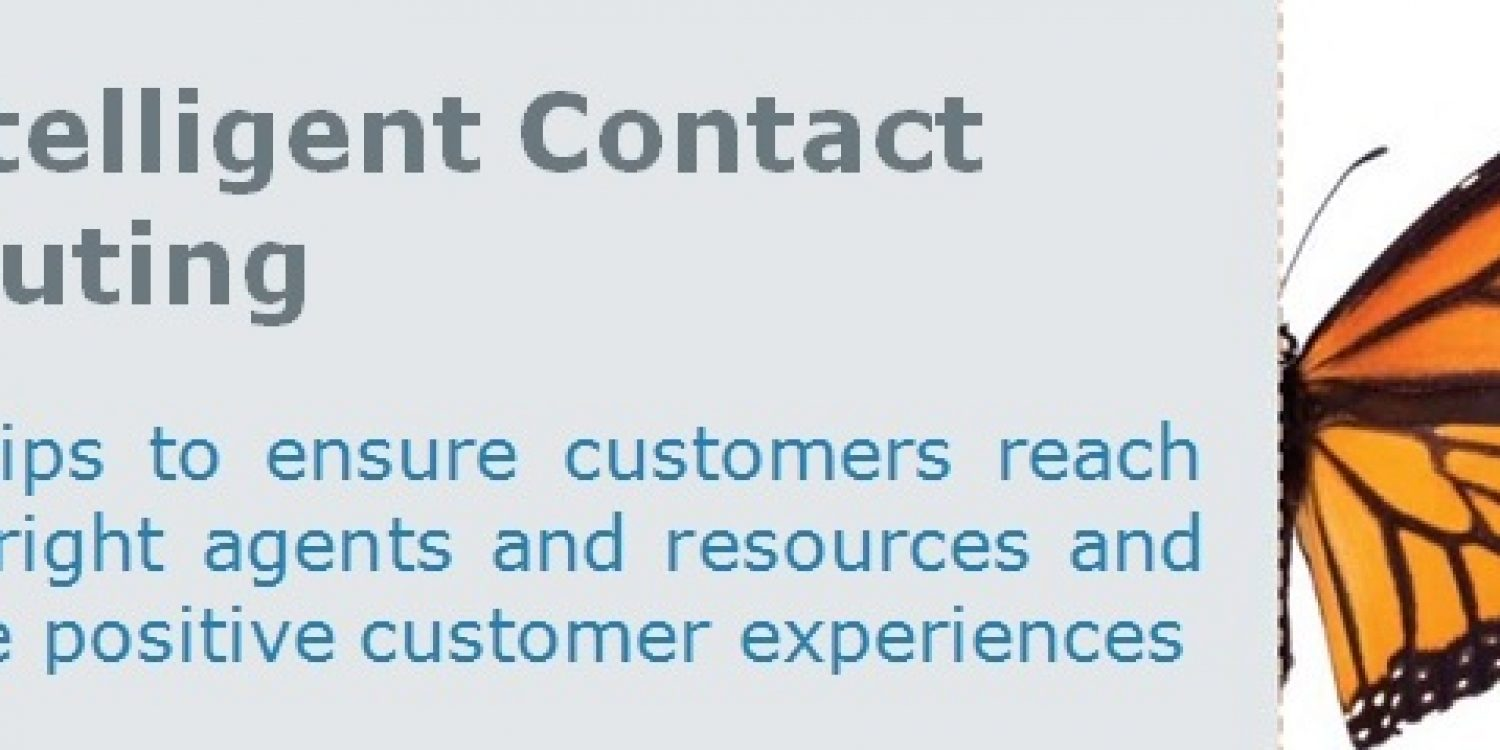 Intelligent Contact Routing – eBook by Content Guru