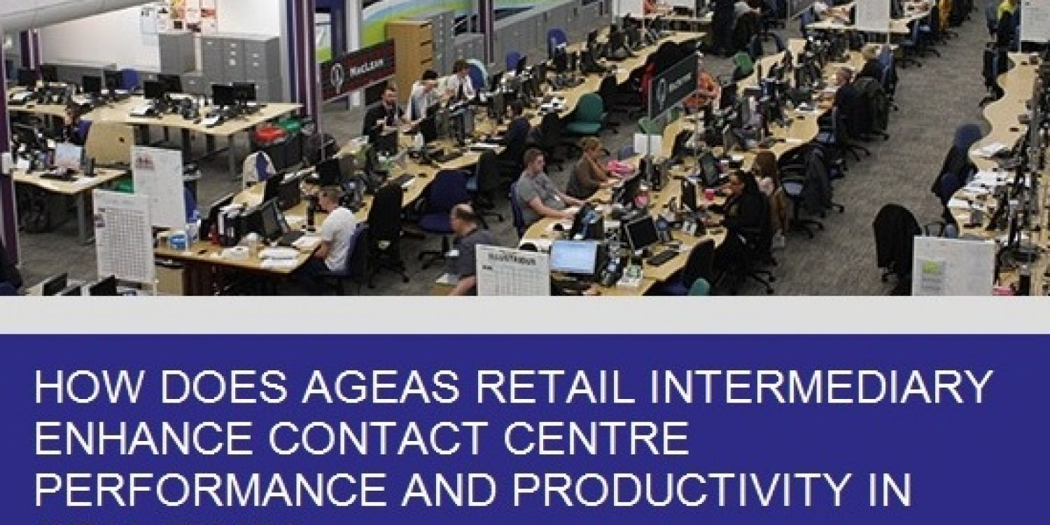 How does Ageas Retail Enhance Contact Centre Performance?