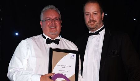 Manager of the Year - Neil Clarke - Severn Trent Water