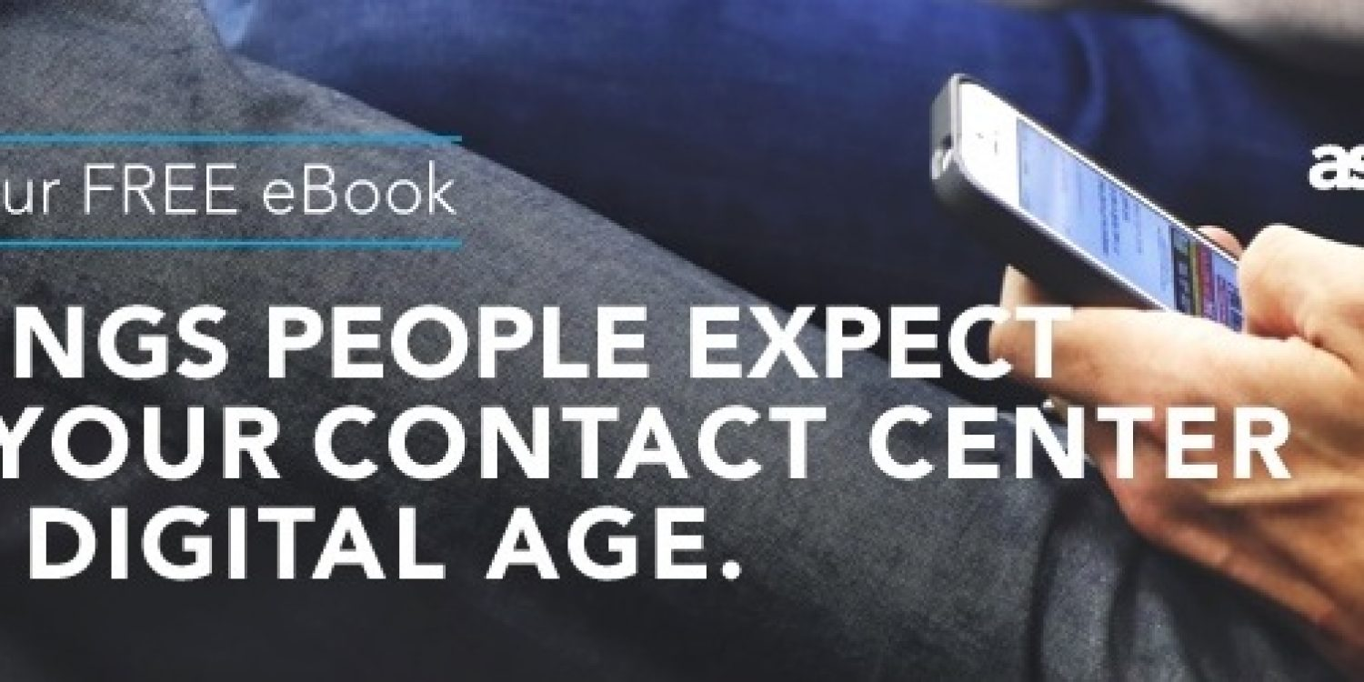 eBook 6 Things People Expect from your Contact Centre