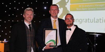 Stewart Daly - Tesco Bank Insurance - Manager of the Year