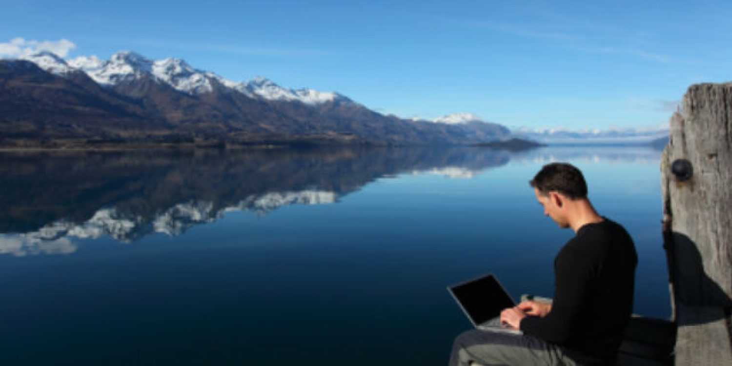 The future of work is here 'work from anywhere'