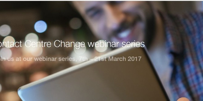 Netcall Announce Contact Centre Change Webinar Series