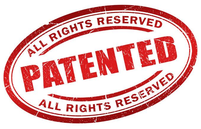 Patented stamp