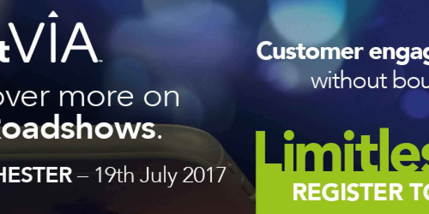 Don't miss the Aspect Via Roadshow! Register today!