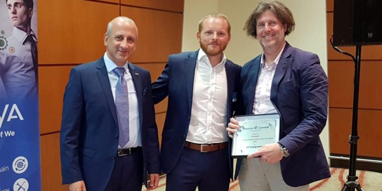 IP Integration Receives Enterprise Partner Award