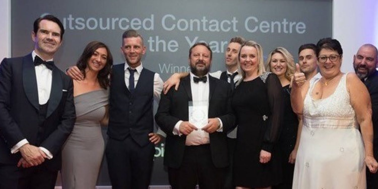Echo MS Wins Outsourced Contact Centre Award