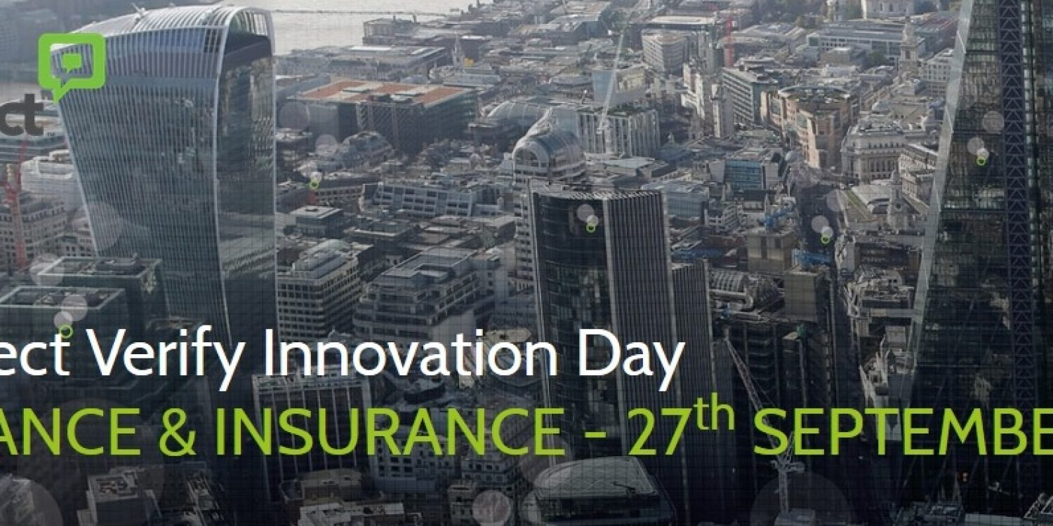 Aspect Verify Innovation Day – Finance & Insurance