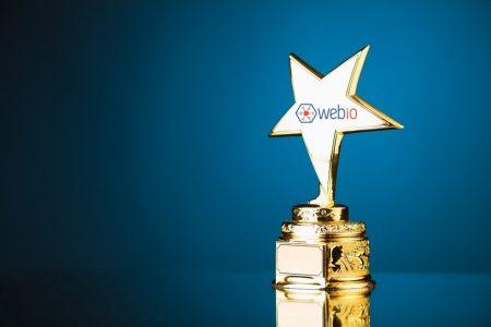 2 Webio wins Tech Awards