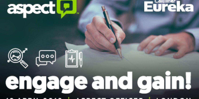 Register Now for Aspect's Engagement Analytics Session