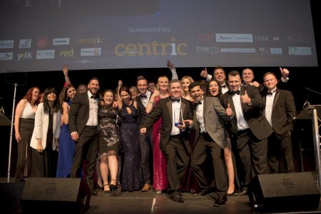 Lloyds Banking Group win the Large Contact Centre of the Year category