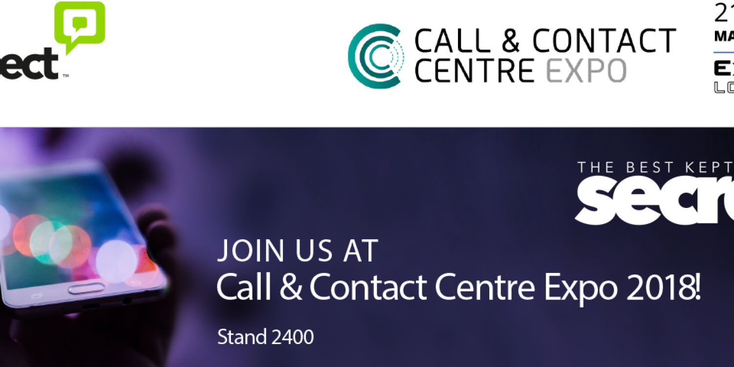 Visit Aspect at CCC Expo, Excel London 2018