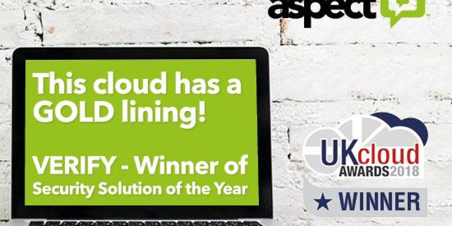 Aspect Software Wins Security Solution Gold at UK Cloud Awards