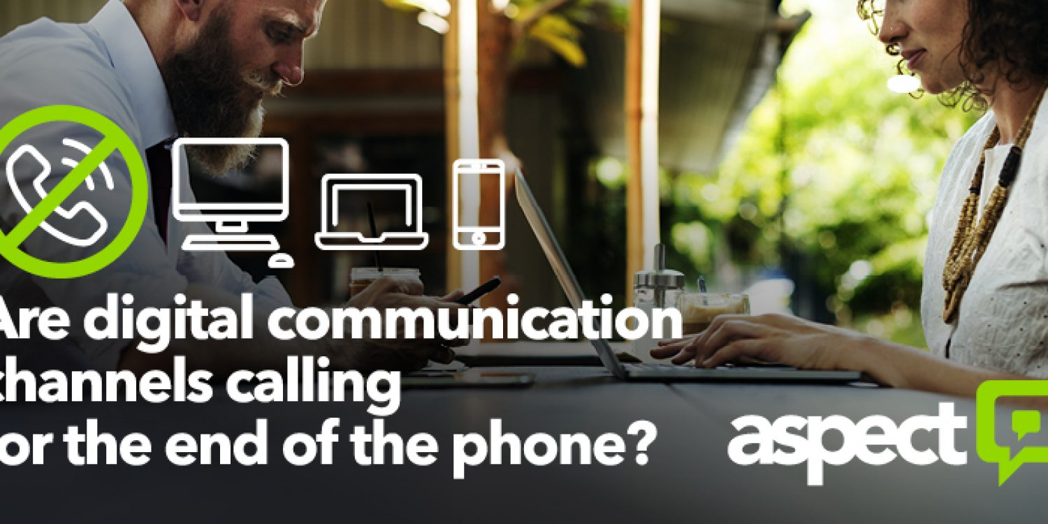 Are digital communication channels calling for the end of the phone?