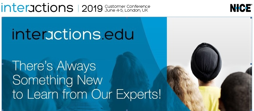 Interactions 2019 – Customer Conference – June 4th – 5th