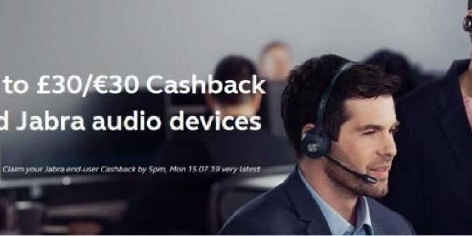 Jabra Launches New Q2 Cashback Promotion