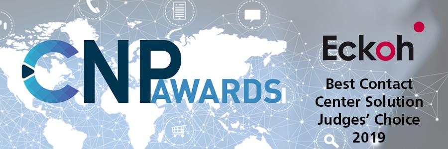 Contact Centre Solution Award goes to Eckoh CallGuard