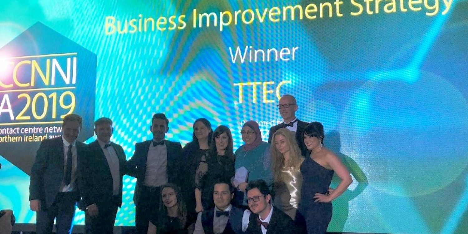 TTEC Wins at Contact Centre Network Northern Ireland