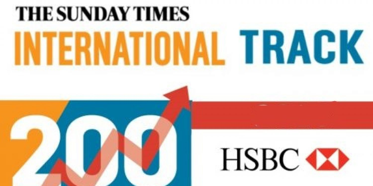 Redwood Technologies recognised in Sunday Times Track 200