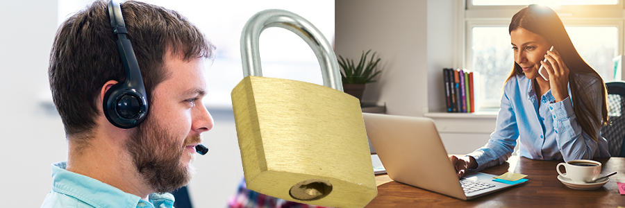 Take security seriously when getting back to work