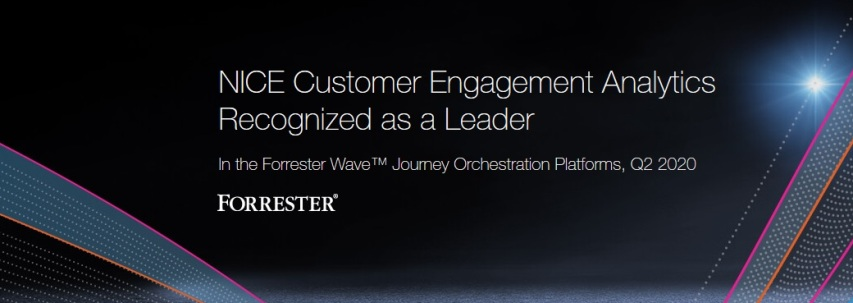 NICE Named Leader in Journey Orchestration by Analyst Firm