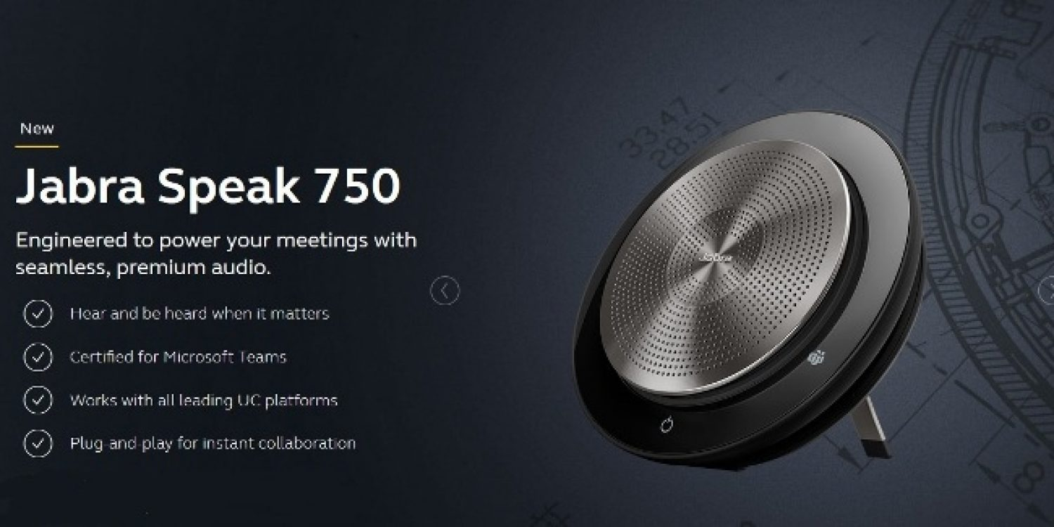 Jabra launch Speak 750 – Professional speakerphone for the New Normal