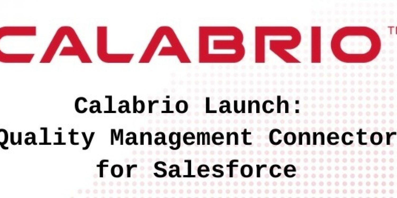 Calabrio QM Connector Now On Salesforce AppExchange
