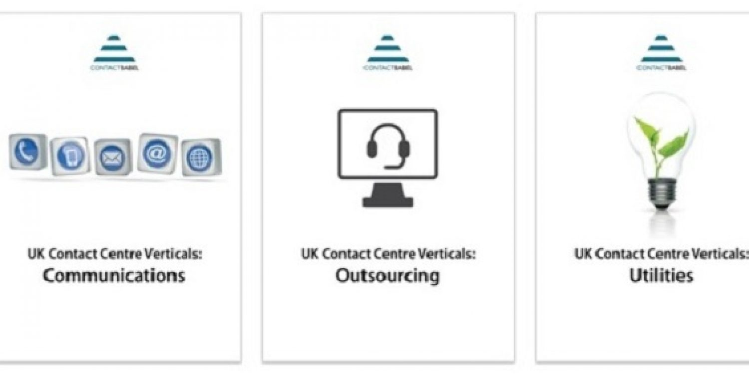ContactBabel: The UK Contact Centre Vertical Markets Report